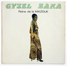 GYZEL BAKA SIGNED Reine de la Mazouk west indies latin soul french GBA 1 LP