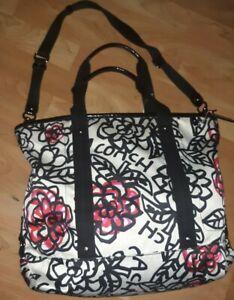 COACH Poppy Kyra Daisy Graffiti XL Crossbody Messenger Bag