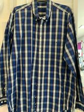 Barbour Mens Long sleeved Shirt Size Large PLaid