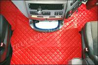 DAF 105 xf FLOOR SET LEATHERETTE IN RED[TRUCK PARTS & ACCESSORIES]