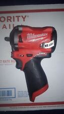 Milwaukee M12 12V Cordless Impact Wrench -2554-20 3/8 inch drive
