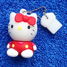 1 New Red Novelty Hello Kitty 128MB, USB Flash Drive Memory Stick