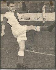 Football Autograph Bryan Douglas Signed Newspaper Picture & Bio Sheet F431