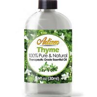 Artizen Thyme Essential Oil (100% PURE & NATURAL - UNDILUTED) - 1oz / 30ml