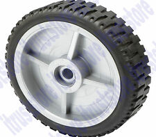 """8"""" INCH SOLID HARD RUBBER REPLACEMENT TIRE WHEEL STEEL RIM HUB DOLLY HAND CART"""
