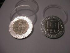 """2 x 100 Schilling """"Millennium"""" 2000 und 2001 (Communications und Mobilität)"""