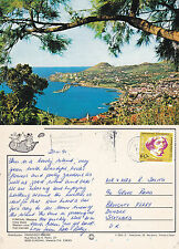 1991 WESTERN VIEW OF FUNCHAL MADEIRA PORTUGAL COLOUR POSTCARD