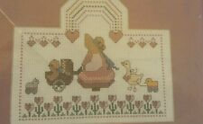 Bucilla Counted Cross Stitch Kit Baby Nursery Lullaby Infant Girl Sew Needlework
