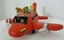 Vintage Columbia El Exportador Toy Airplane Smugglers, Pilot Passengers Produce!