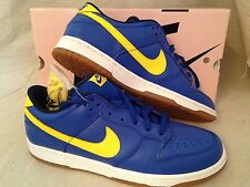 NEW NIKE DUNK LOW PRO SB sz 13 BOCA SUPREME 304292-471 Royal/Lightning