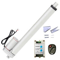 """Set of 16"""" 12V Linear Actuator &Wireless Remote Control for Car Auto Door Opener"""