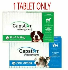 Capstar Flea Tablets For Dogs & Cats 1 TABLET Only