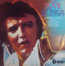 33T ELVIS PRESLEY -LOVE SONGS-RCA / K-TEL- UK- TB ETAT