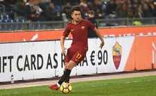 Cengiz Ünder Pantaloncino n° 17 As Roma Match Worn taglia L (indossato in gara)