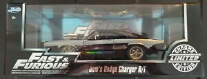 JADA Fast & Furious Doms Dodge Charger R/T 1/24 CHROME