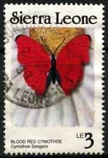 Butterflies Used Postage African Stamps