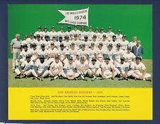 1975 Los Angeles Dodgers original team issued photo