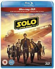 Solo: A Star Wars Story - 3D + 2D Blu-ray [Disney Action Han Solo Jedi]  NEW