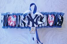 New York Yankees Fabric Logo Wedding Garter Toss Prom  Baseball  Charm