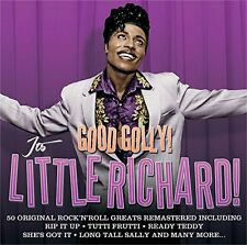 GOOD GOLLY! ITS LITTLE RICHARD 50 TRACKS Inc RIP IT UP TUTTI FRUTTI LUCILLE MORE