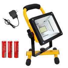 Waterproof 50W 3000LM Work Light Portable Flood Spot Spotlight Outdoor 3x18650