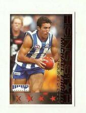 2005 AFL SELECT RISING STAR NORTH MELBOURNE MICHAEL FIRRITO HERALD SUN CARD RS2