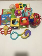 Lot Of 10 + Baby Toys And Other Stuff like Books and Balls