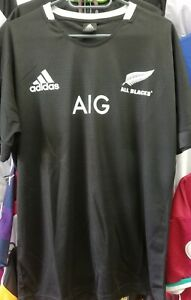 All Blacks New Zealand Mens Home Replica 2020 Jersey Size Small to XXL