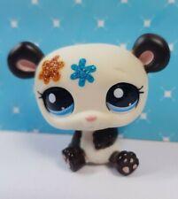 Littlest Pet Shop LPS Figur #2225 Glitzer Panda Bär