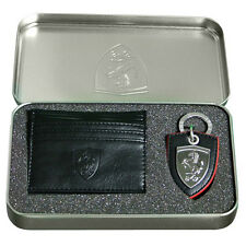 Puma Ferrari SF KEYRING & titular de la tarjeta cartera para hombre Conjunto de Regalo 073491 01 OPD132
