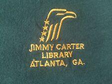 ORG.VTG. 80's Jimmy Carter Library ATLANTA, GA Embroidered Logo Adult T-shirt XL