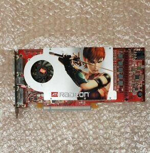 ATI Radeon X1800 XL 256MB DDR3 graphics card, 2x DVI, 109-A52031-01 102A5200200