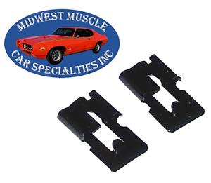 56-63 GM NOS Pontiac Chevy Olds Buick Door Lock Latch Rod Retaining Clips EC