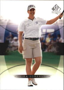 2004 SP Authentic Golf Card Pick