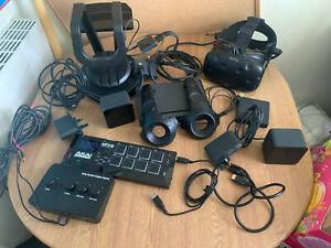 HTC Vive  Virtual Reality PC  gaming Headset FULL KIT