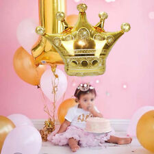 28'' Gold Crown Foil Helium Balloon Princess Birthday Party Wedding Decoration