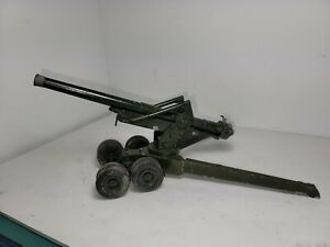 Britains Ltd 1:32 HEAVY 155mm MILITARY FIELD ARTILLERY GUN + AMMO 9745 NMIB`74!