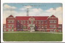 Devils Lake ND Odd Fellows Home 1942 Linen Post Card