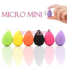 Dolovemk 6 Pcs MICRO MINI Makeup Blenders Egg Beauty Sponge 30mm Expand/Wet