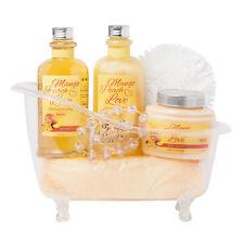 BRUBAKER Beauty Set 'Mango Peach Love' Spa Bath Tub Shower & Body Gift Set
