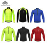 Men's Cycling Jersey Long Sleeve Cycle Shirts MTB Bike Bicycle Tops Breathable
