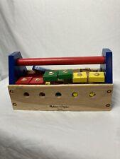 Melissa & Doug Take A Long Tool Kit Toolbox Wooden Toy Pretend Play