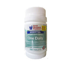 GNP One Daily Multivitamin Supplement 10 Essential Vitamins - 250 Tablets