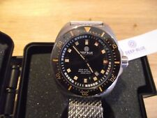 NEW Deep Blue 45mm Deep Star 1000   Automatic Men's Diver and extra strap.
