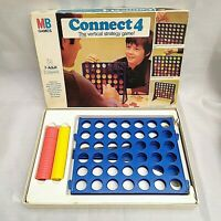 Vintage 1976 Connect 4 MB Games - The Vertical Strategy Game! 100% complete #2