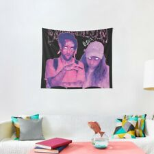 Suicideboys Signed Purple Haze Wall Tapestries, Suicideboys Wall Tapestry