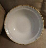 "2 EUC Vintage Hearthside The Classics Stoneware 9"" inch Serving Bowls Tan Brown"