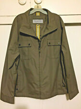 2XL Andrew Marc of New York Men's Lightweight Jacket or Rain Coat In Brown
