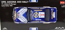 Opel Ascona 400 Rally - 1981 Safari Rally #1 Maßstab 1:18 von Sun Star