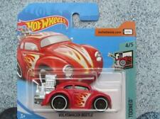 Hot Wheels 2018 #107/365 VOLKSWAGEN BEETLE ROJO TOONED